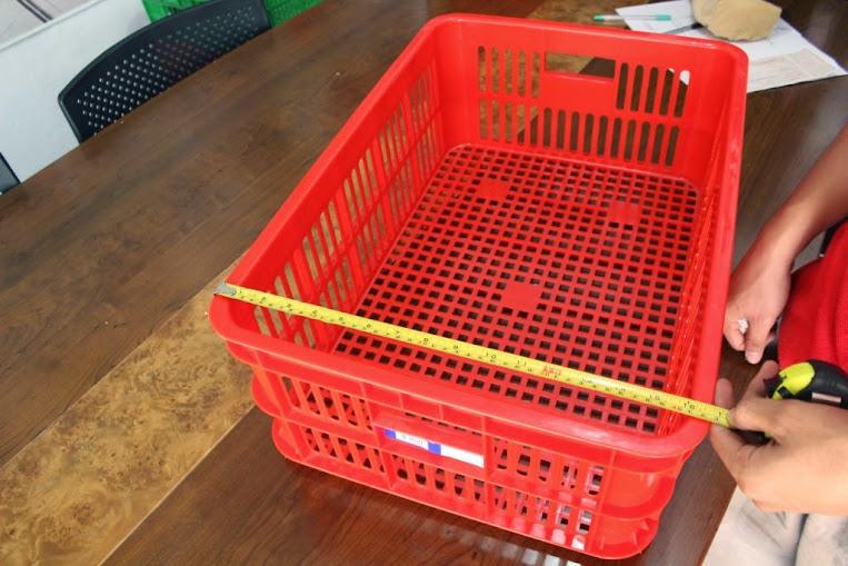 JUAL KERANJANG KONTAINER PLASTIK LOBANG TIPE 2294 L | Green Leaf | www.rajarakminimarket.com | RAJA RAK INDONESIA | JAKARTA