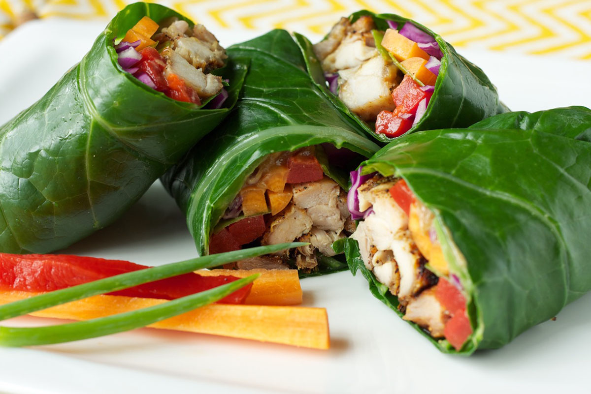 gluten free chicken wraps