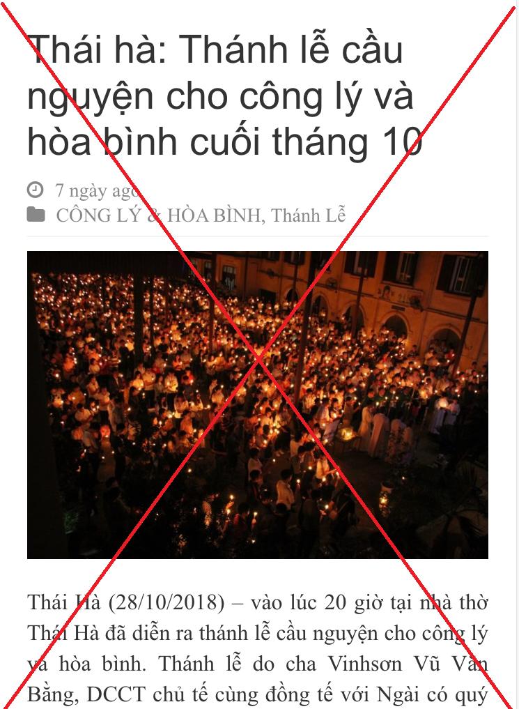 Giáo xứ Thái Hà