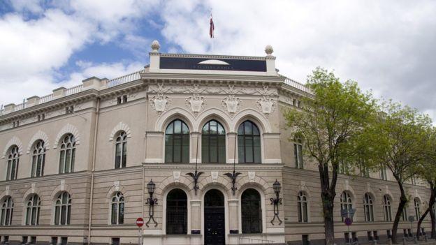 Банк Латвии в Риге