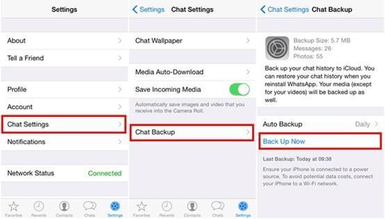 Cara Memulihkan Chat WA di iPhone