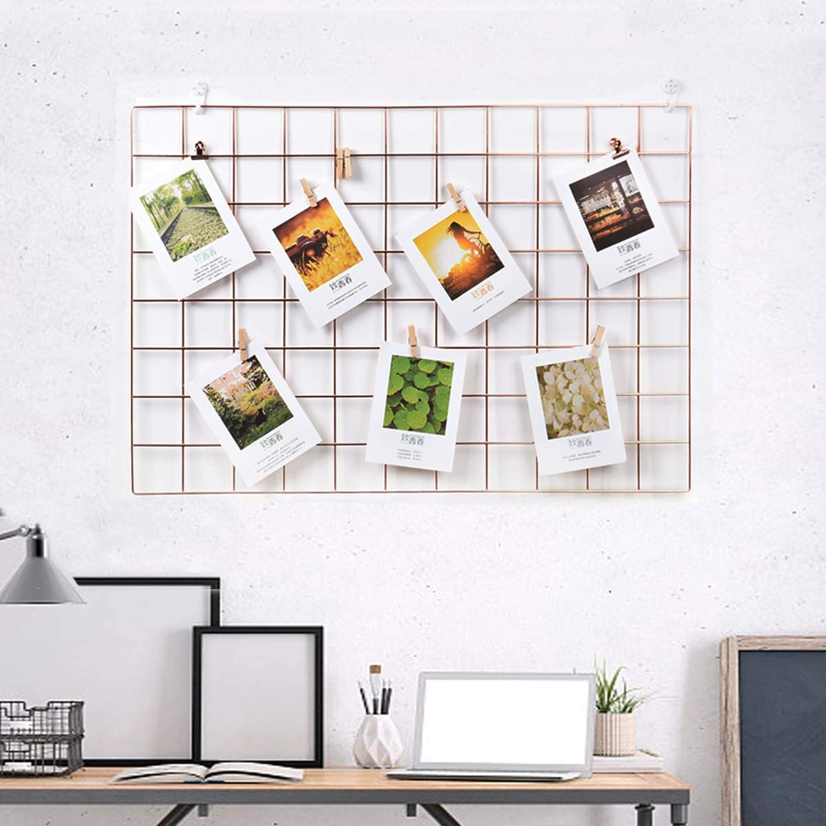 Grid Panel Gallery Wall Picture Without Frame