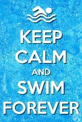 Image result for keep calm swimming meme