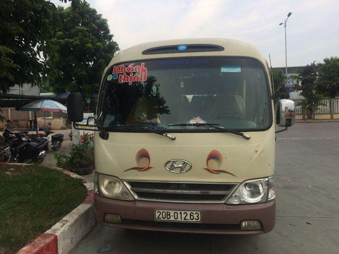 Xe Khánh Thịnh từ Thái Nguyên đi Sơn La