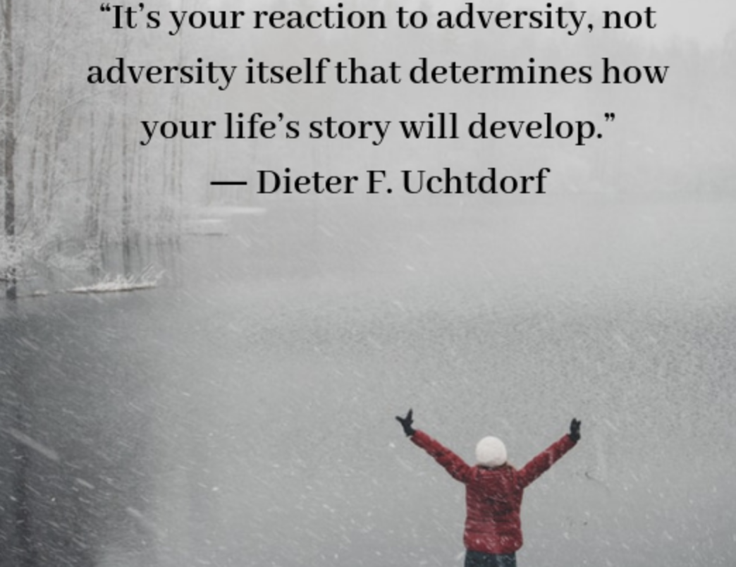 Reacting to Adversity