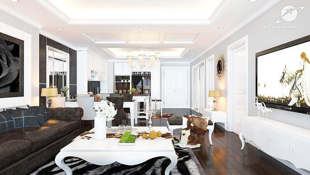 Thiết kế căn hộ Sunshine Riverside