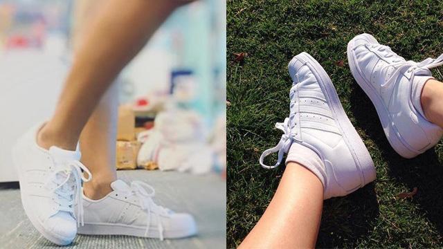 Giày sneaker cổ thấp Adidas