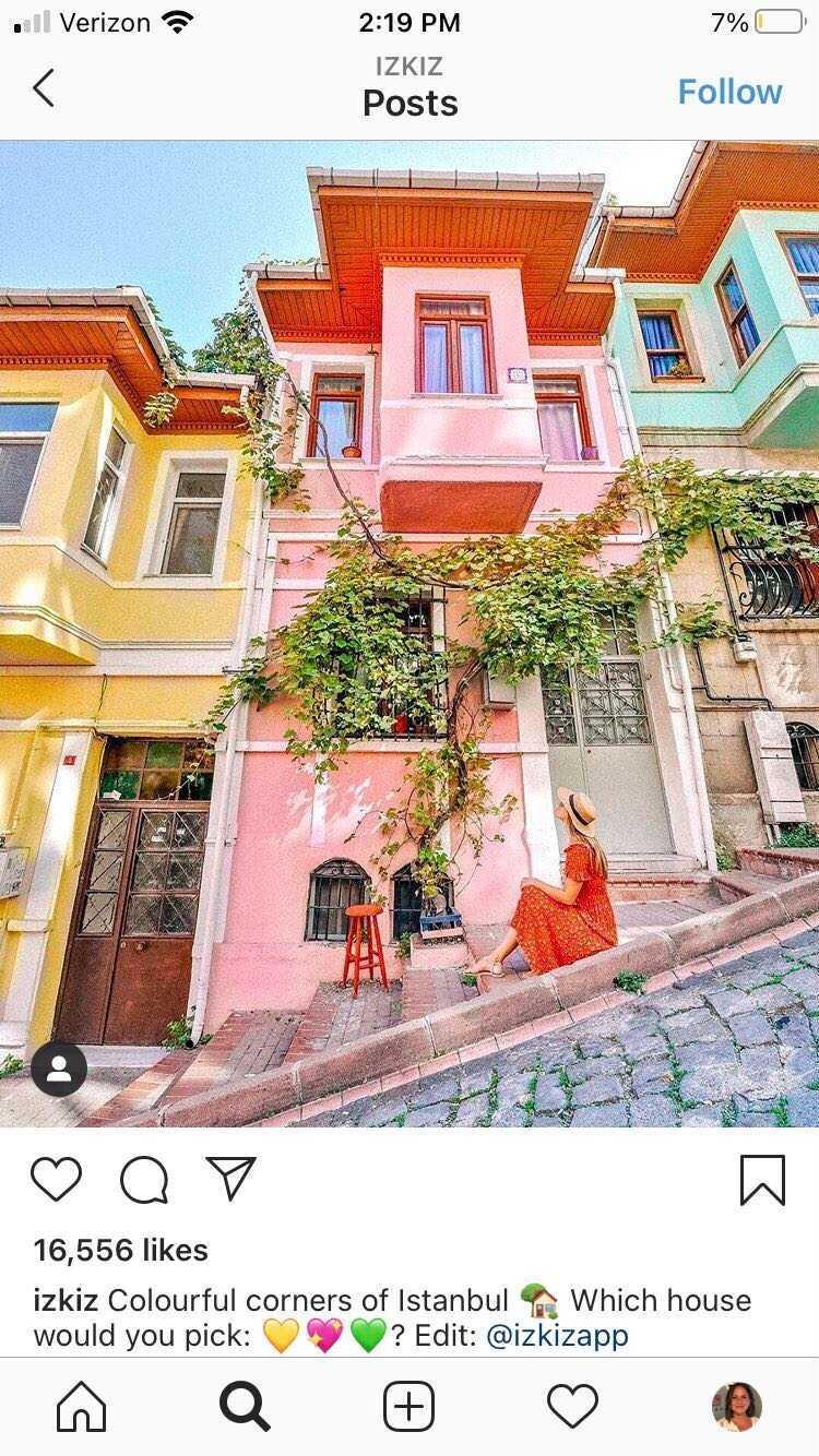travel Instagram izkiz