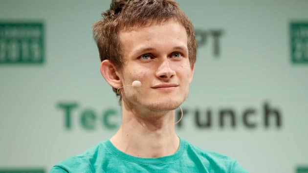 This is the image of Ethereum's co-founder and CEO Vitalik Buterin.