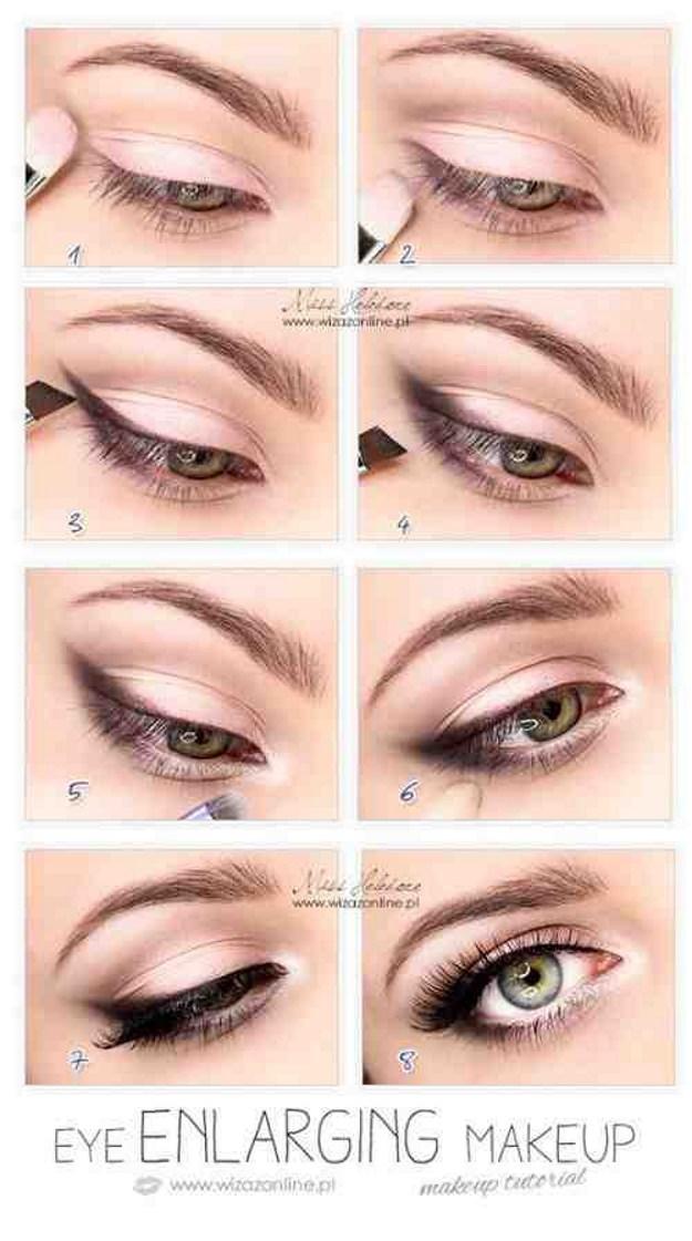 How to Make Eyes Look Bigger | Graduation Makeup Tutorials by http://www.makeuptutorials.com/makeup-tutorials-graduation-beauty-ideas