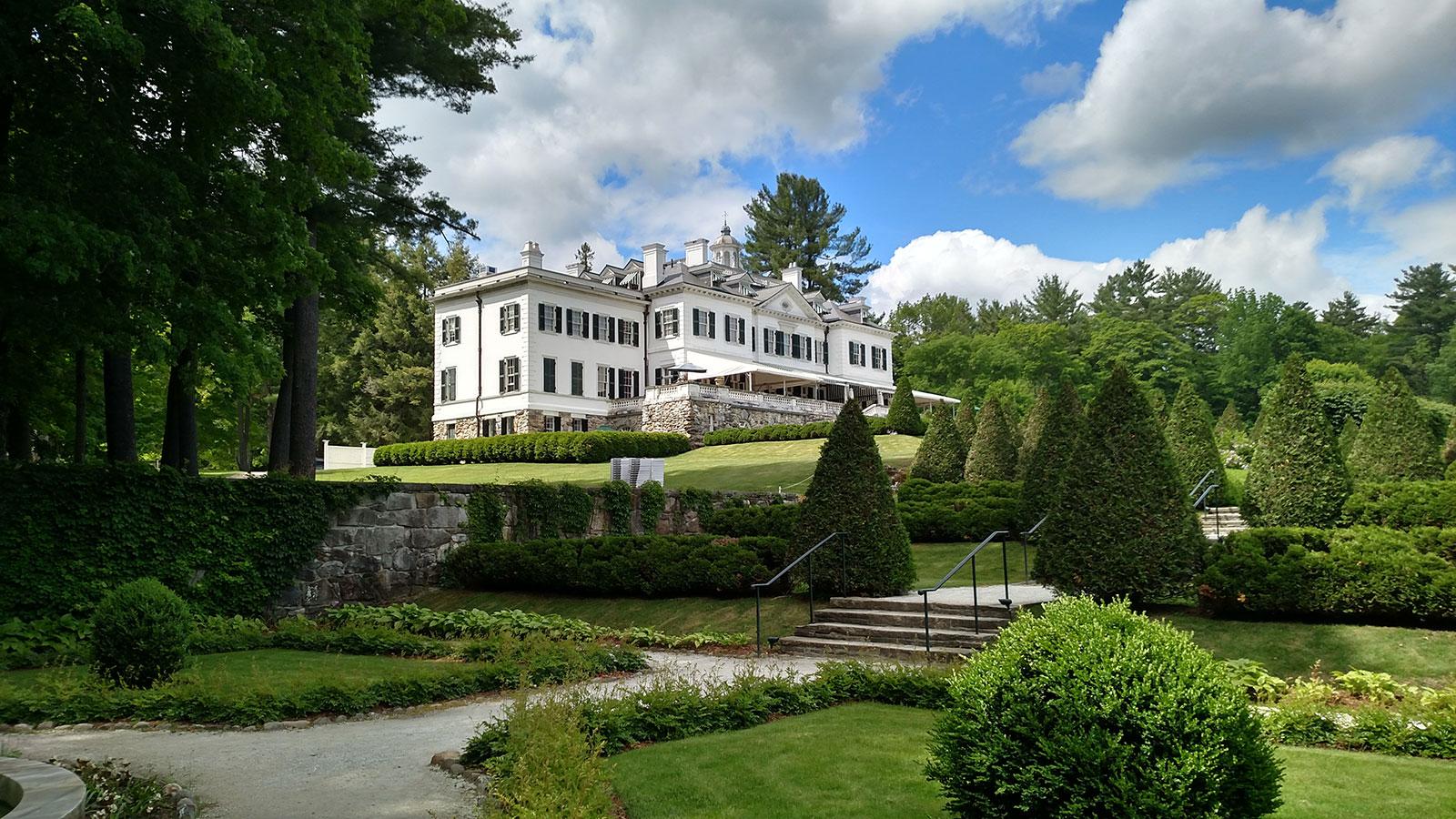 The Mount - a antiga casa de Edith Wharton