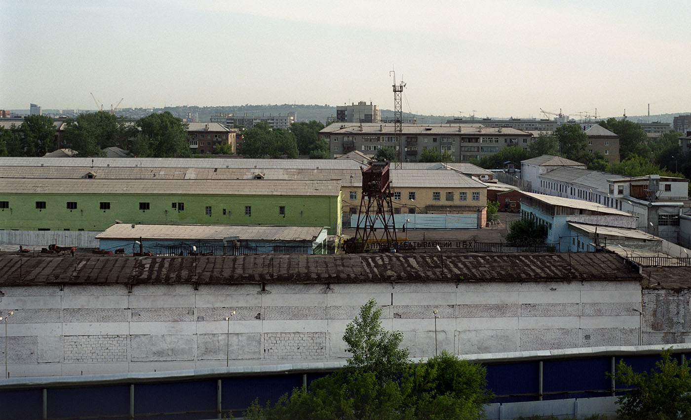 Красноярская исправительно-трудовая колония №6. Фото: Максим Шер / «Медиазона»