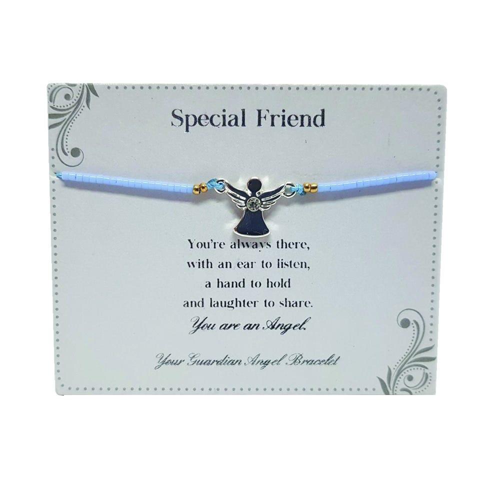 Gift Ideas For Nurses; Clintons Guardian Angel Bracelet - Special Friend