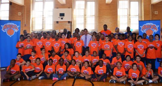 Knicks Basketball Clinic