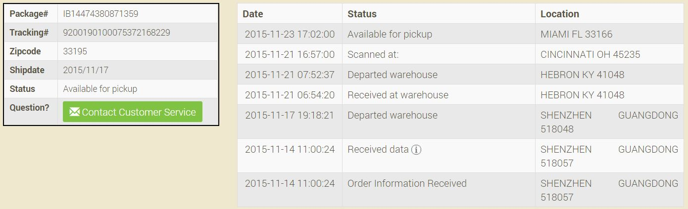 Quickest and most reliable Gearbest shipping method right now: America Line  / IB | BudgetLightForum.com