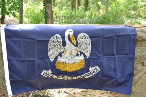 Louisiana Flag by Volunteer Traditions
