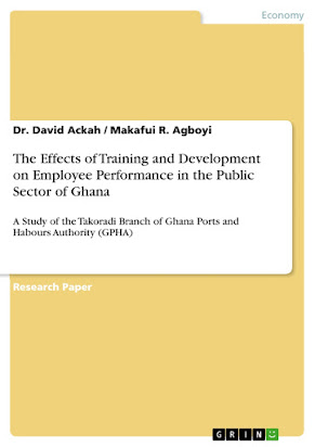 research paper on impact of training on employee performance