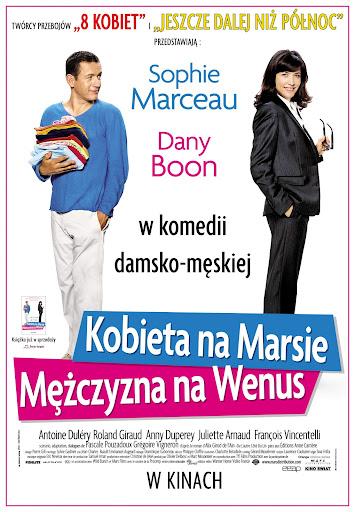 Polski plakat filmu 'Kobieta Na Marsie, Mężczyzna Na Wenus'