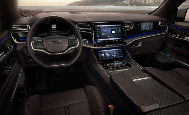 the new jeep Grand wagoneer 2021