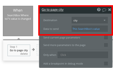 Using Bubble's no-code tool to create a Tripadvisor city