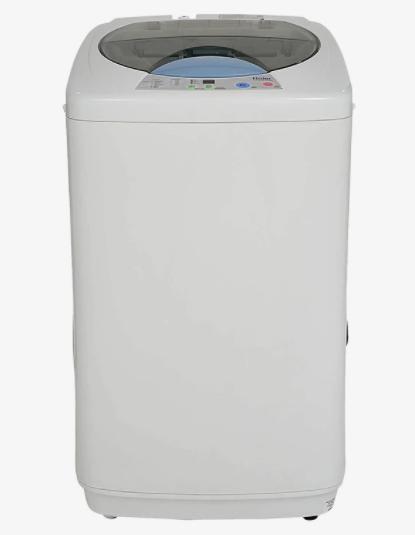 Hair 5.8 Kg फुल्ली-ऑटोमैटिक टॉप लोडिंग वाशिंग मशीन