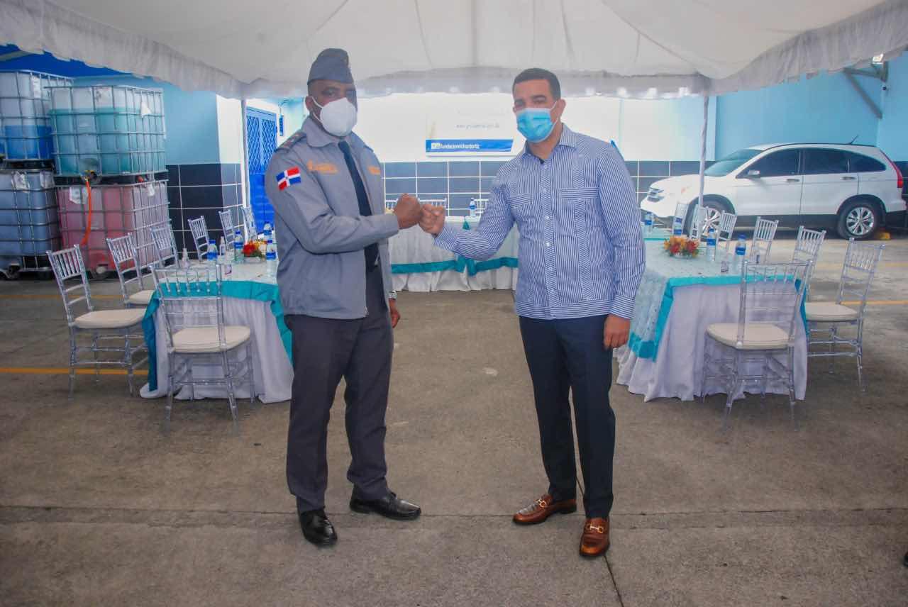 Policía Comunitaria y la Fundación Richard Ortiz inician la alianza de acción en pro de la convivencia pacífica en Villa Consuelo