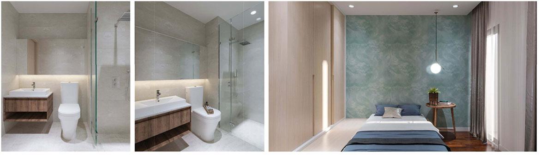 Từng thiết kế trong căn hộ được chăm chút kỹ lưỡng