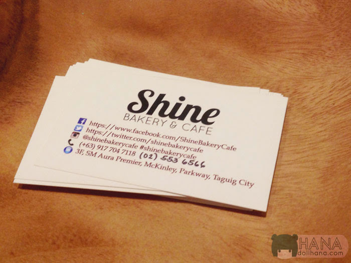 shine bakery contact