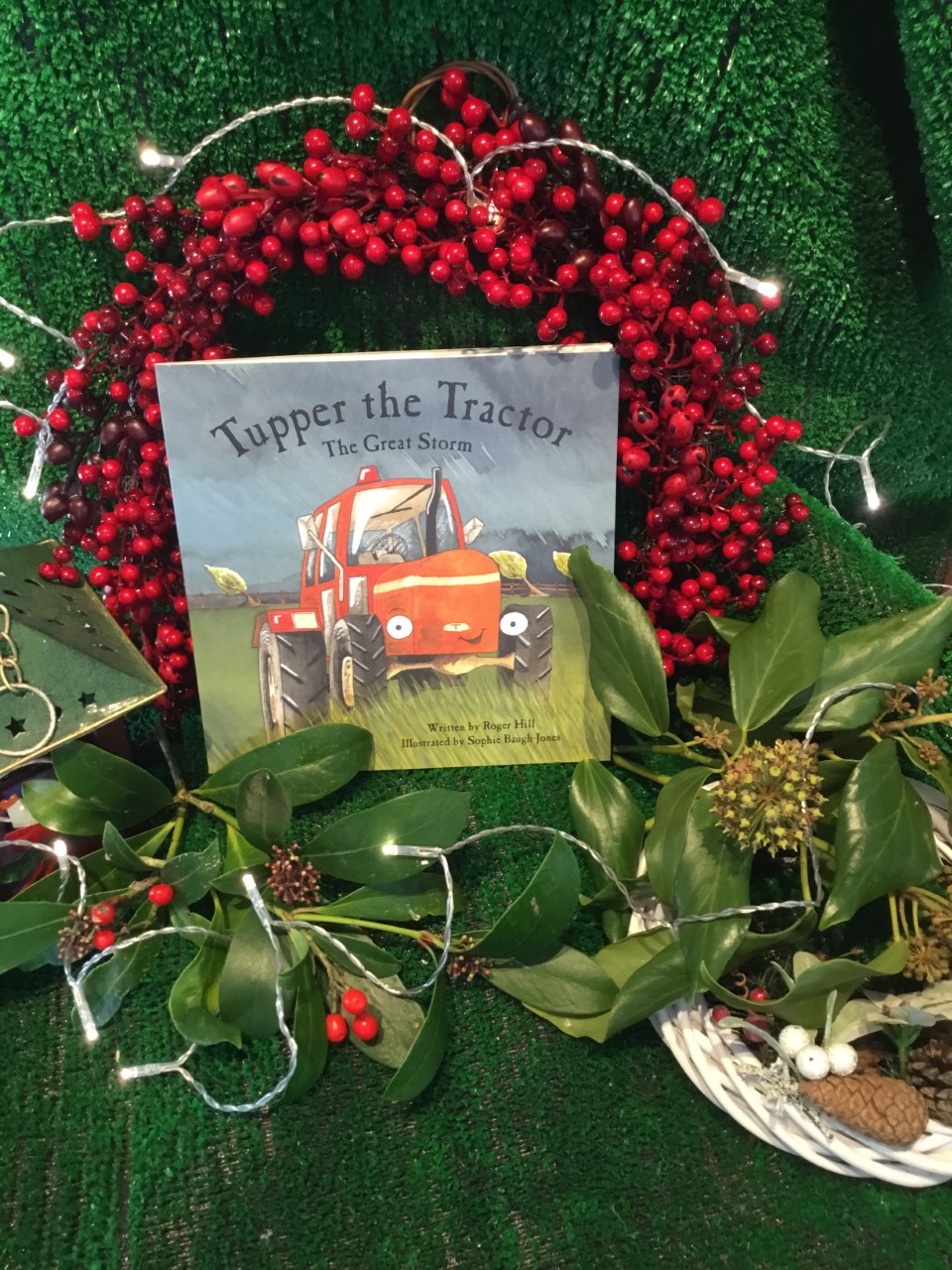 Purchase Tupper the Tractor a childrens book with the profits that go to Tractor.