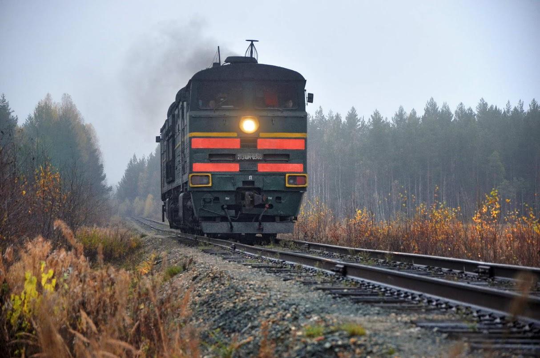 верхнекамский поезд на фосфоритной