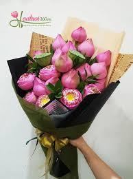 Thông điệp của loài hoa thể hiện sự chân thành biết ơn: