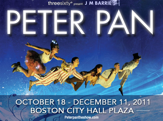 threesixty° Entertainment's Peter Pan: a truly magical experience in 360°