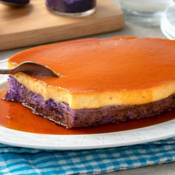 classic leche flan with a twist new flavor