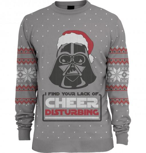 Star Wars: Lack of Cheer Disturbing Unisex Knitted Christmas Sweater
