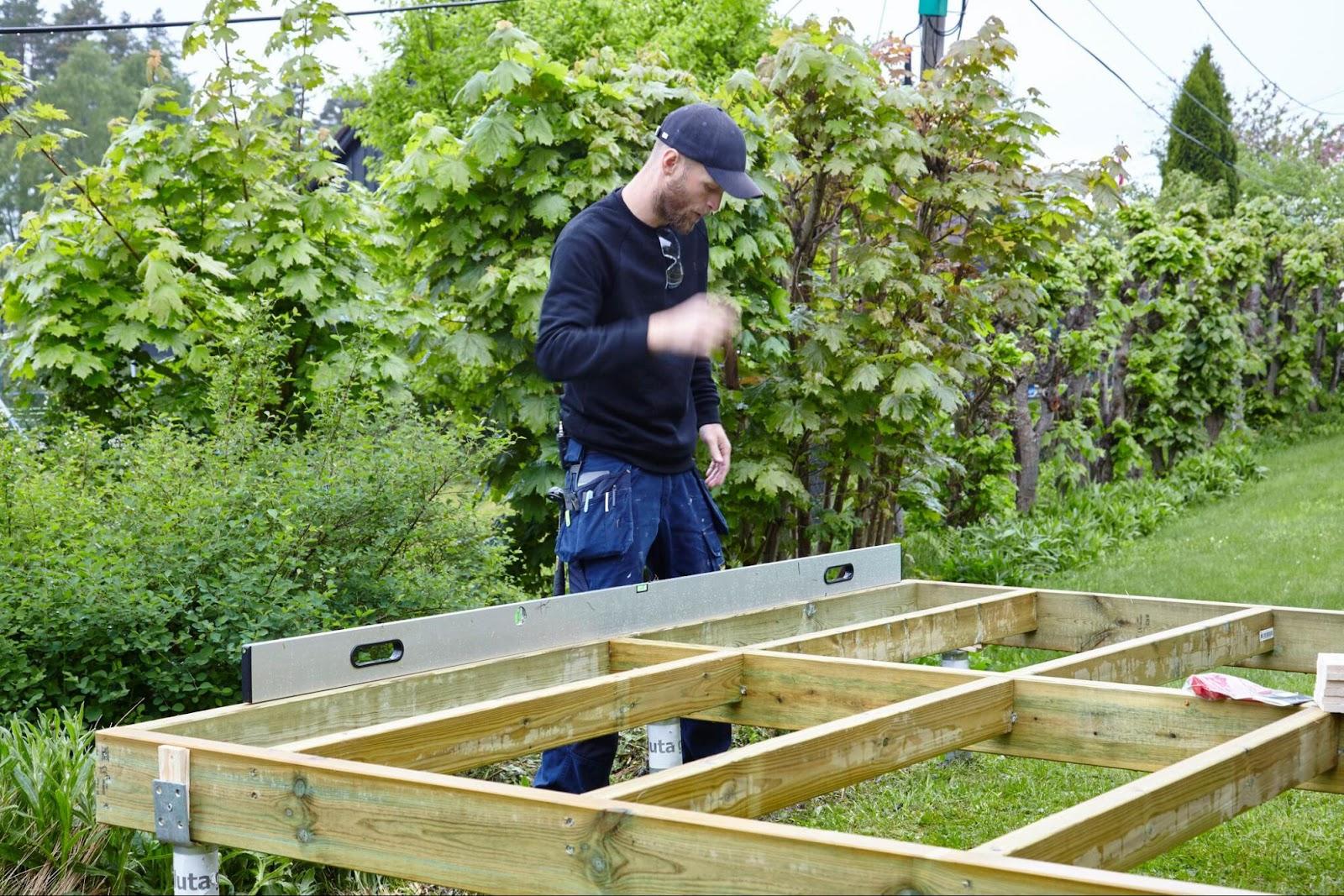 bygg terrasse selv