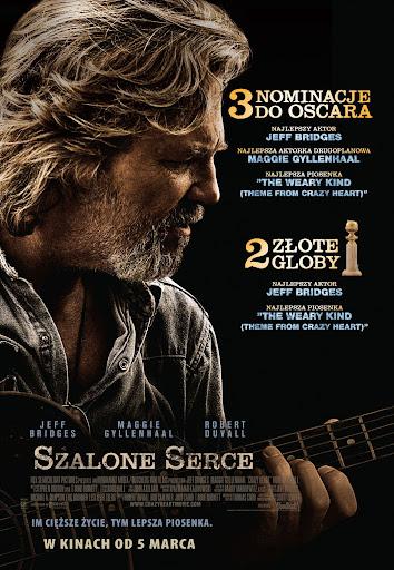 Polski plakat filmu 'Szalone Serce'