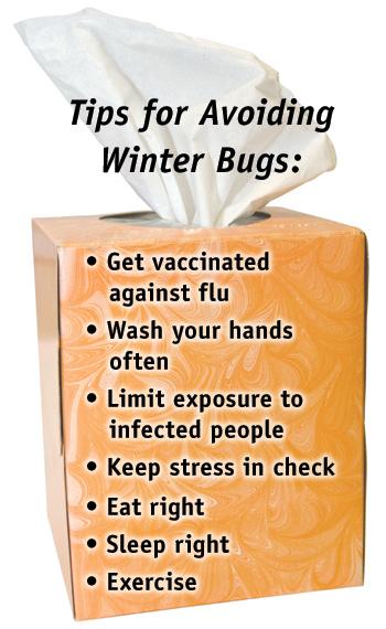 Tips for Avoiding Winter Bugs image - Get Set for Winter Illess Season
