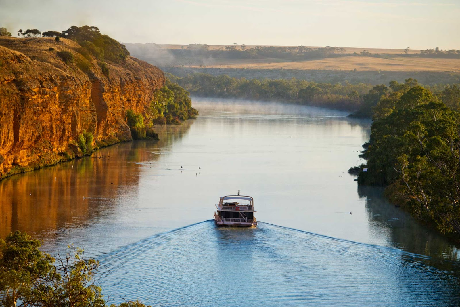 For a more relaxing time: Murray River