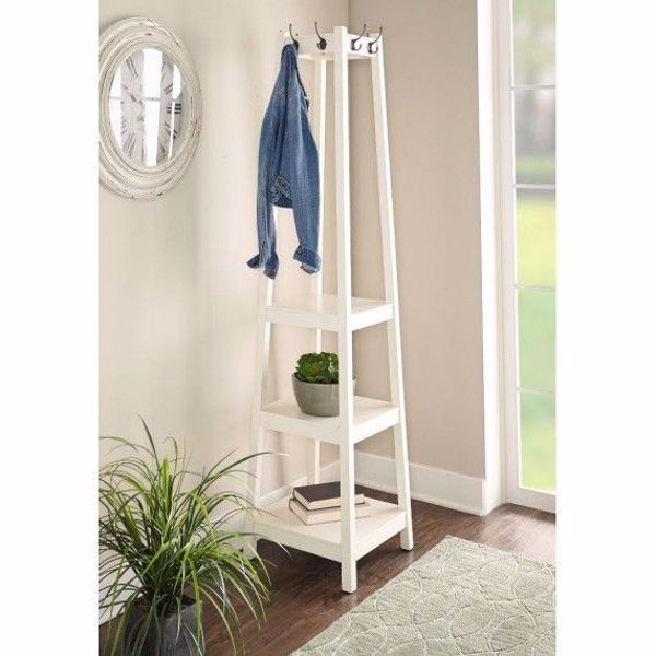 Picture of White Huntersville Coat Rack