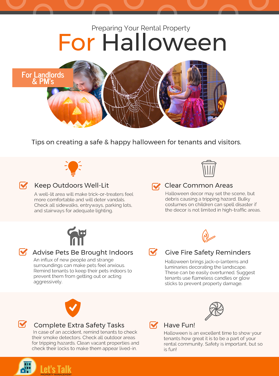 let's talk pm - halloween prep for your rental property - blog view