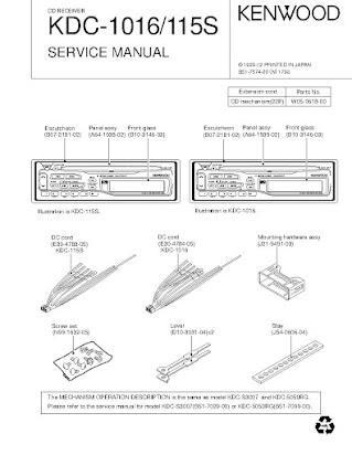 kenwood kdc115s manual