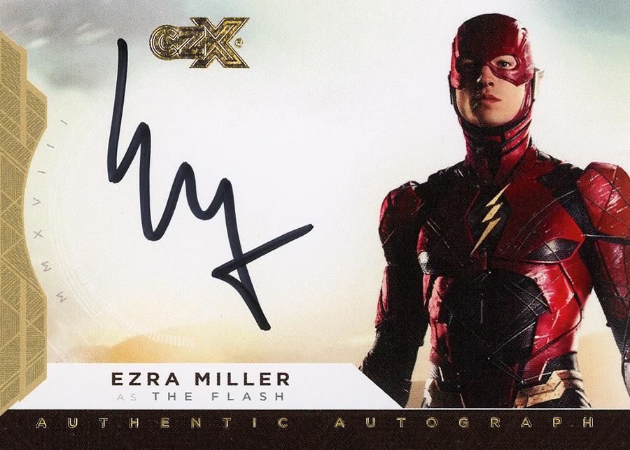 CZX Super Heroes & Super-Villains - Autograph Card