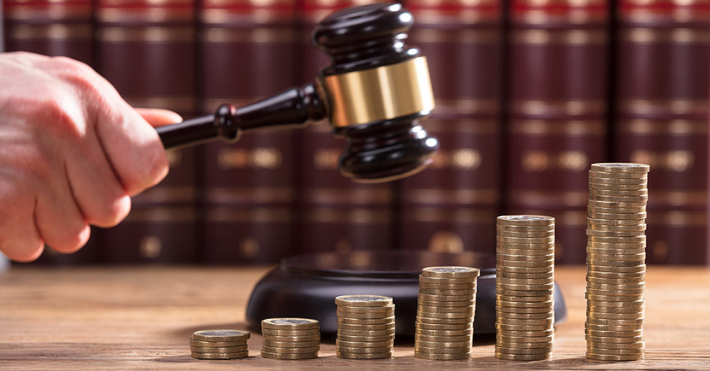 Pay in Court for Legal Fees