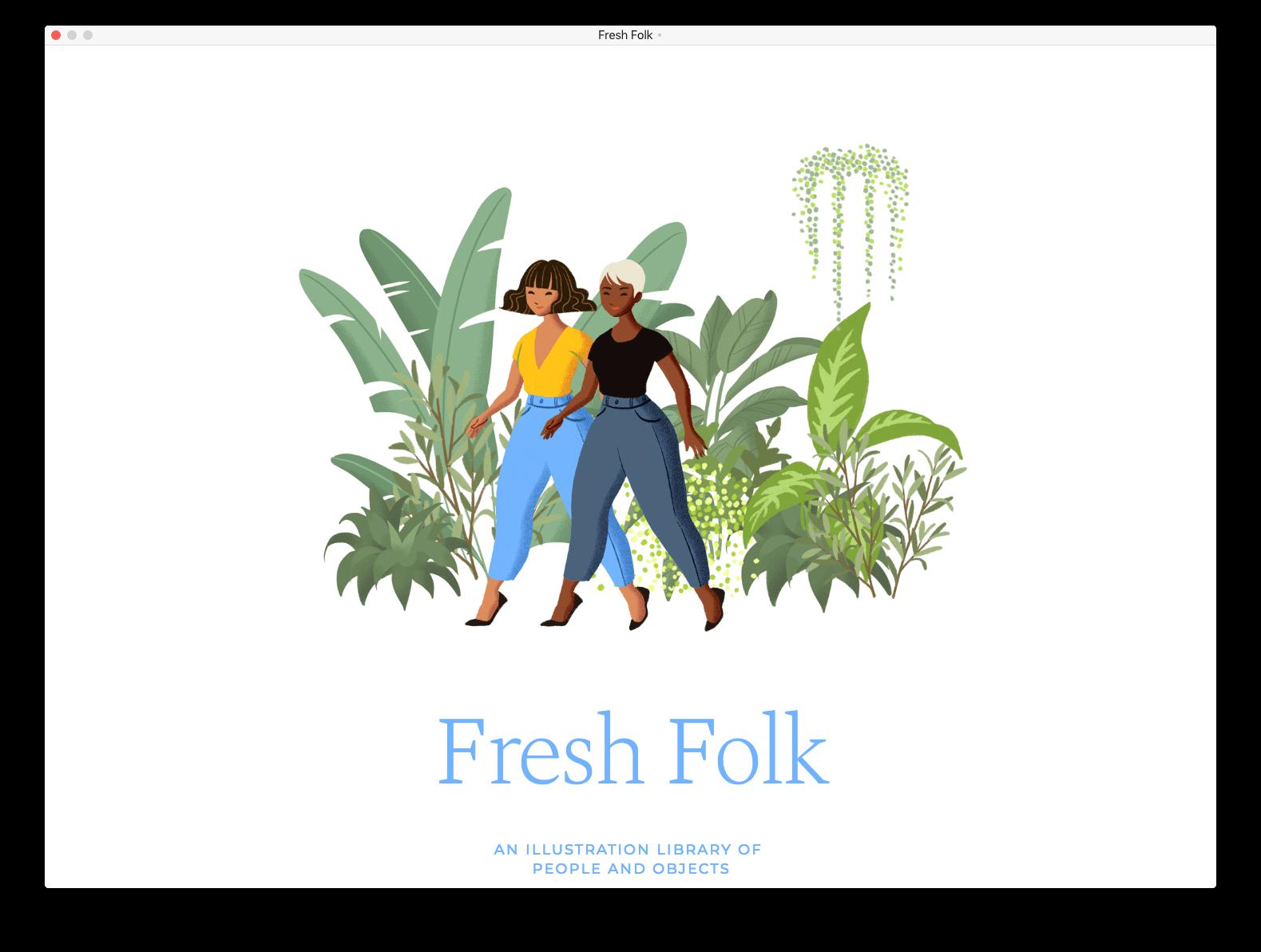 humaaans-like конструктор Fresh Folk