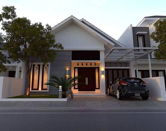 9 Desain Rumah Minimalis Tampak Depan Inspirasi Rumah Impian