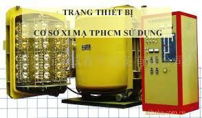 Trang thiết bị cơ sở xi mạ TPHCM