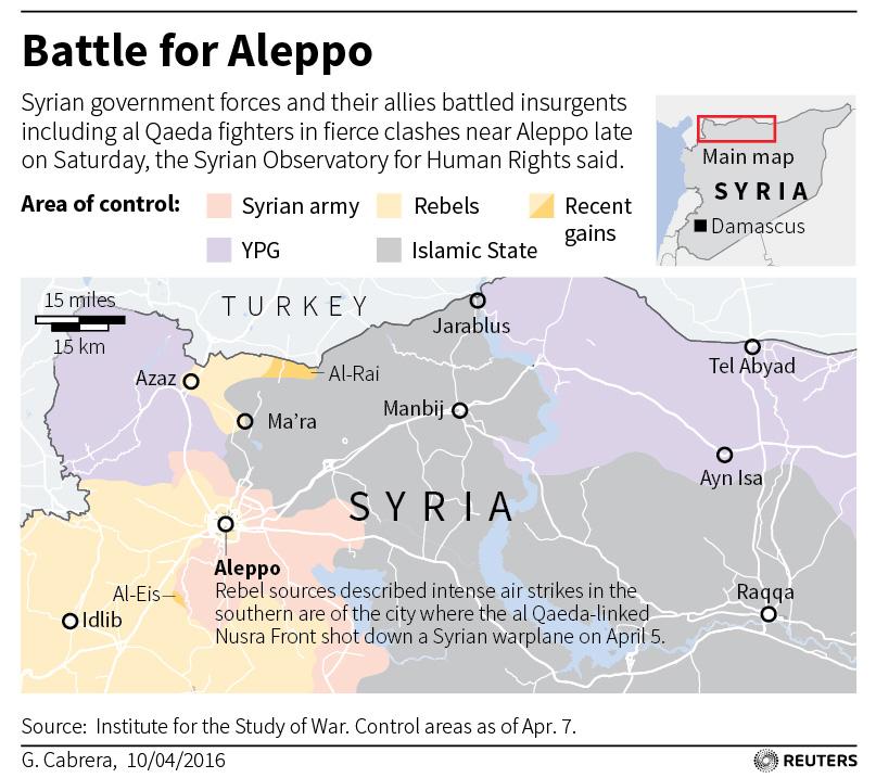 MIDEAST-CRISIS SYRIA ALEPPO T