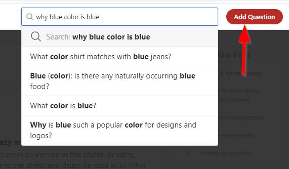 add question screenshot from quora