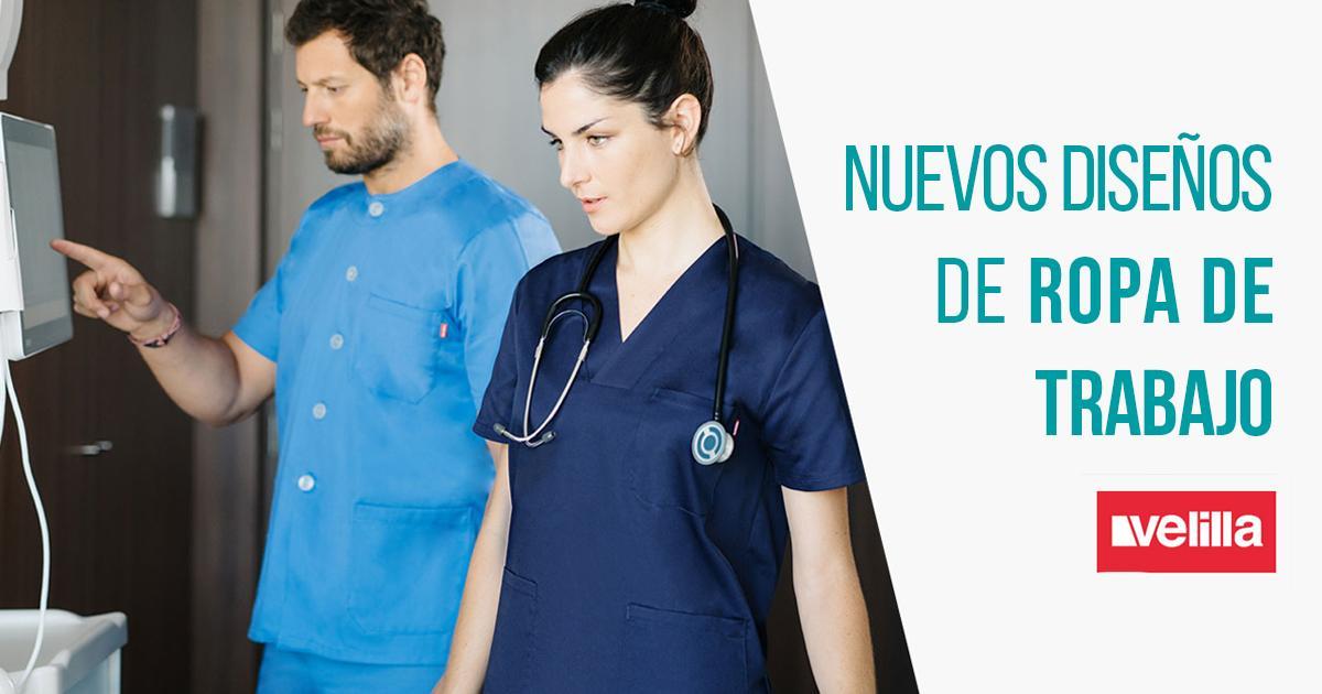Nuevos diseños de ropa de trabajo y uniformes velilla