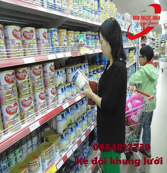 kệ bán hàng siêu thị